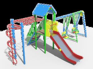 Детский игровой комплекс Австрия 04