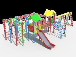 Детский игровой комплекс Солярис 03