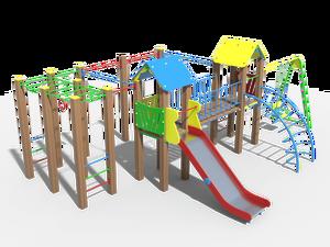 Детский игровой комплекс Солярис 07