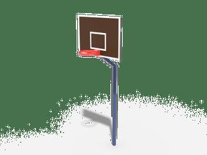 Элемент спортивной площадки Баскетбольная стойка (без сетки) 02