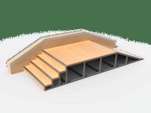 Элемент для скейт-площадки 12