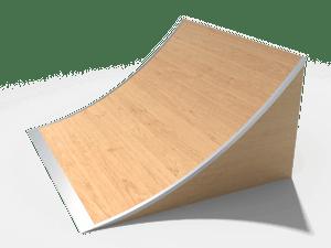 Элемент для скейт-площадки 02 Kicker wave