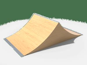Элемент для скейт-площадки 05 Spine