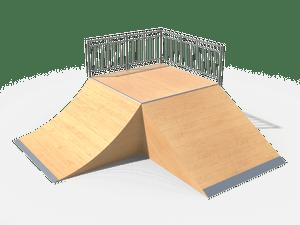 Элемент для скейт-площадки 06 Start Box