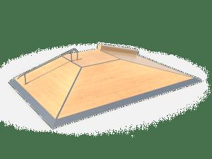 Элемент для скейт-площадки 09