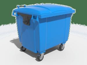 Пластиковый евроконтейнер 0,66 м³