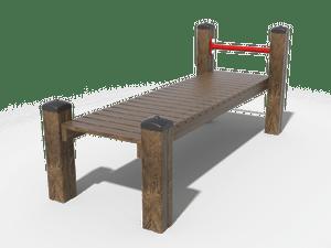 Скамья гимнастическая прямая